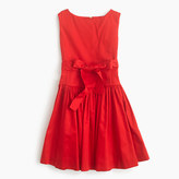 J.Crew Girls' sateen bow dress