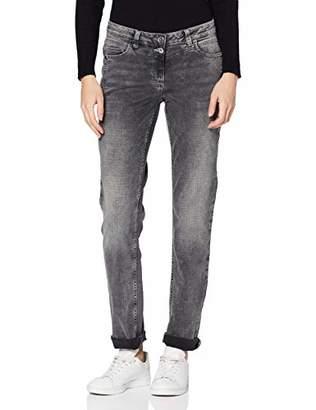 Street One Women's 372704 Scarlett Straight Jeans,27W x 32L