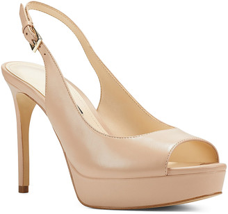 Nine West Women's Pumps LNALE - Barely Nude Elle Slingback Pump - Women