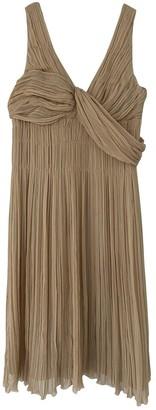 Prada Beige Silk Dresses