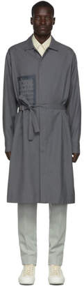 Jil Sander Grey Straight Fit Long Shirt