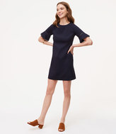 LOFT Lacy Bell Cuff Shift Dress