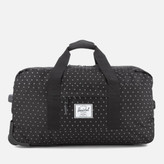 Herschel Wheelie Outfitter Travel Duffle Bag - Black Gridlock