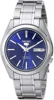 Seiko SNKL43 Men's 5 Automatic Stainless Steel Bracelet Blue Dial Watch