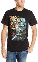 Nickelodeon Teenage Mutant Ninja Turtles Men's Ninja Turles 2014 Movie Group Colors T-Shirt