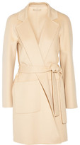 Michael Kors Wool, Angora And Cashgora-Blend Coat