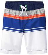 Crazy 8 Stripe Swim Trunks