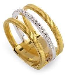 Marco Bicego 18K Yellow & White Gold Goa Ring with Diamonds