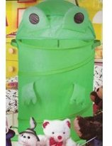 "I.H.C. Frog Hamper (Green) (32"" tall x 18"" diameter)"