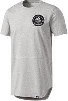 adidas Men's Greatness Long-Hem Graphic T-Shirt