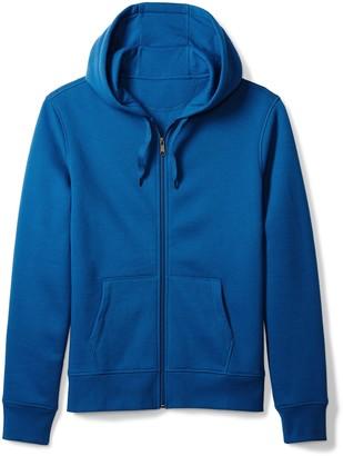 Amazon Essentials Full-Zip Hooded Fleece Sweatshirt Blue Medium