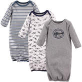 Hudson Baby Gray Aviation Gown Set - Infant