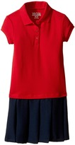 Nautica Pique Polo Pleated Dress (Little Kids)