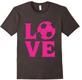 I love soccer t-shirt for women, girls and kids