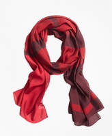 Brooks Brothers Striped Oblong Scarf