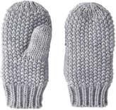Joe Fresh Toddler Girls' Knit Mittens, Grey (Size 1-3)