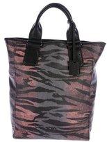 McQ Zebra Shopping Tote