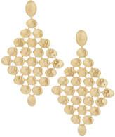 Marco Bicego Siviglia 18k Hand-Engraved Drop Earrings