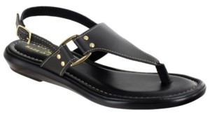 Easy Street Shoes Tuscany by Karaleah Slingback Thong Sandals Women's Shoes