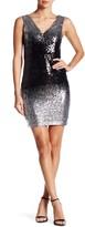 Minuet Black/Silver Sequin Dress