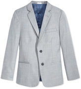 Calvin Klein Boys' Husky Sharkskin Deco Suit Jacket