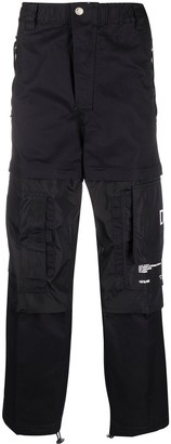 Diesel straight-leg cargo trousers
