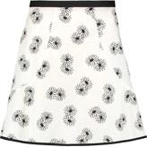 See by Chloe Printed cotton mini skirt