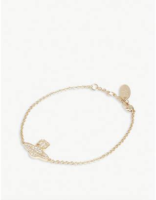 Vivienne Westwood Romina pavé orb bracelet