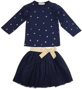 Jastore Girls Cartoon Clothing Sets Long Sleeve Top+Tutu Skirt Kids Clothes (T)