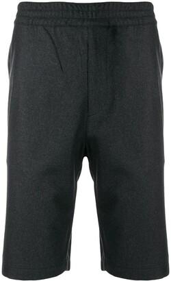 Prada wide-leg knee-length shorts
