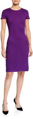 St. John Santana Knit Sheath Dress