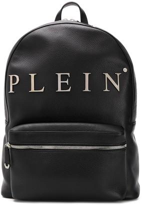 Philipp Plein Logo Plaque Backpack
