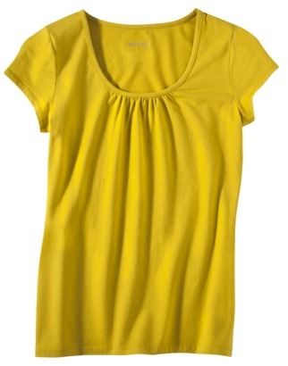 Merona Womens Gathered Neck Top - Assorted Colors