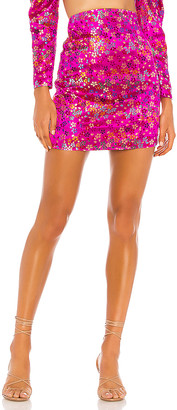 Camila Coelho Rosana High Waisted Skirt