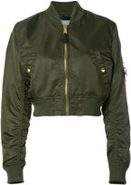 Alpha Industries cropped bomber jacket - women - Nylon - XS