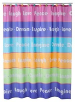 Nobrand No Brand Inspirational Girls Shower Curtain