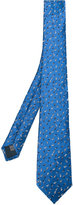 Lanvin embroidered tie - men - Silk - One Size