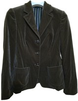 Ballantyne Green Velvet Jacket for Women