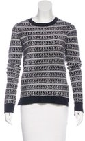A.L.C. Patterned Wool Sweater