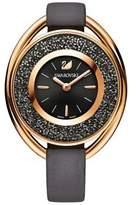 Swarovski 18K Rose Gold Plated Chronograph Crystalline Oval Watch