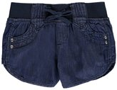 "Chillipop Little Girls' Toddler ""Dolphin Scoop"" Short Shorts"