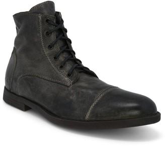 Bed Stu Men's Leather Lace-Up Office Boots - Leonardo