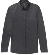 Jil Sander - Slim-fit Stretch Cotton-blend Poplin Shirt