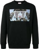 Palm Angels Buzer Beater sweatshirt - men - Cotton - S