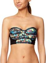 Hurley Juniors Record Scatch Underwire Bustier