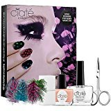 Ciaté Nail Polish Feathered Manicure All a Flutter