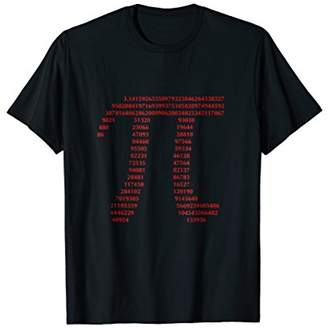 Pi Gift T-shirt for Math Geeks and Nerds