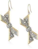 Alexis Bittar Asymmetrical Pentagon Drop Earrings