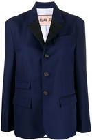Plan C flap pocket blazer