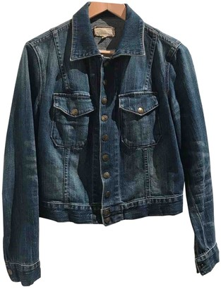 Current/Elliott Current Elliott Blue Cotton Jacket for Women
